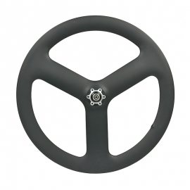 3 Spoke Carbon Wheel