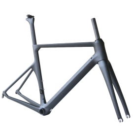 New aero road bike carbon frame all internal cable for sale